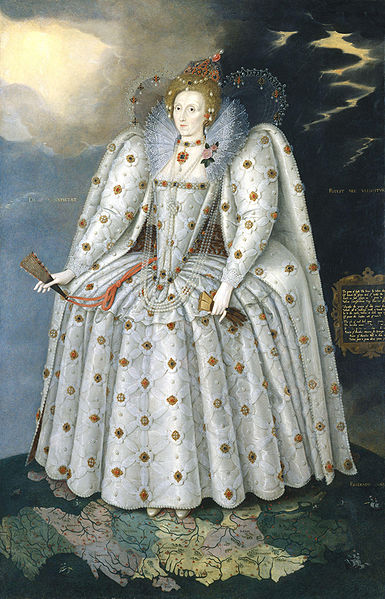 Ditchley portrait of Queen Elizabeth I