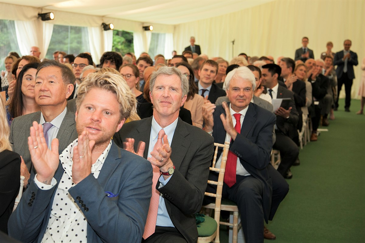Annual Lecture audience